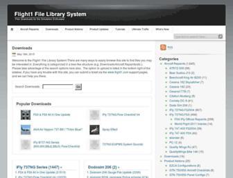 library.flight1.net screenshot