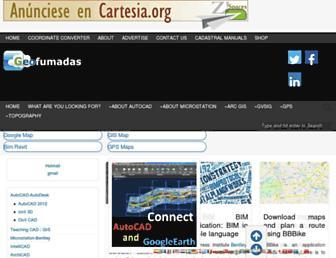 en.geofumadas.com screenshot