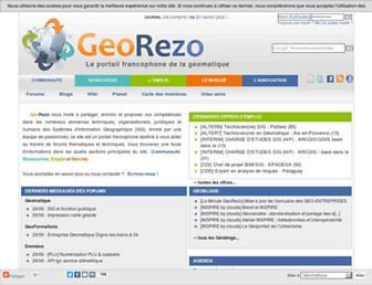 georezo.net screenshot