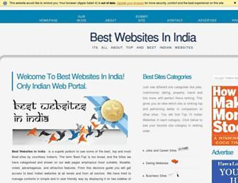 bestwebsiteinindia.com screenshot
