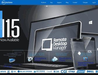 Thumbshot of Devolutions.net