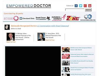 Thumbshot of Empowereddoctor.com