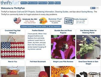 Thumbshot of Thriftyfun.com