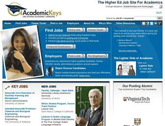 Thumbshot of Academickeys.com
