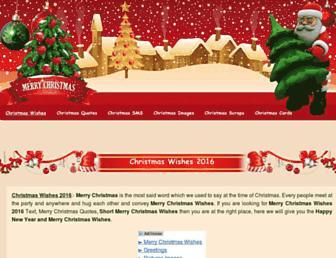 Thumbshot of Merrychristmaswishes.org
