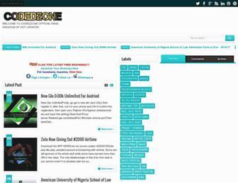 codedzone.com screenshot