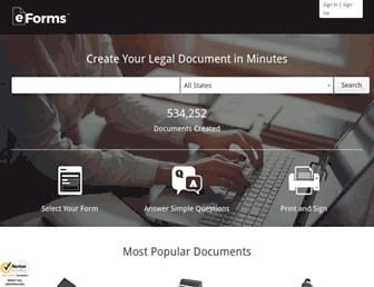 eforms.com screenshot