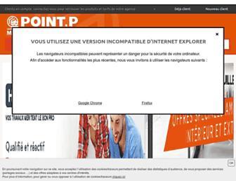 pointp.fr screenshot