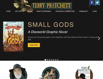 terrypratchettbooks.com screenshot