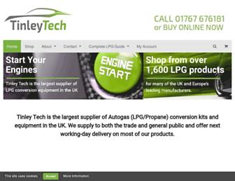 tinleytech.co.uk screenshot