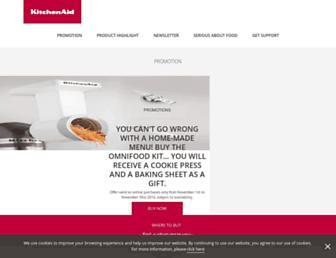 kitchenaid.co.uk screenshot