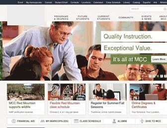 Thumbshot of Mesacc.edu