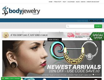 bodyjewelry.com screenshot