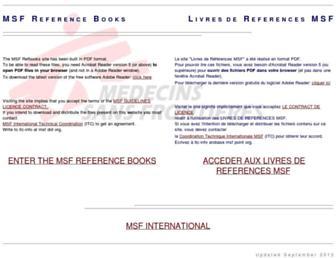refbooks.msf.org screenshot