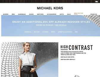 Thumbshot of Michaelkors.com