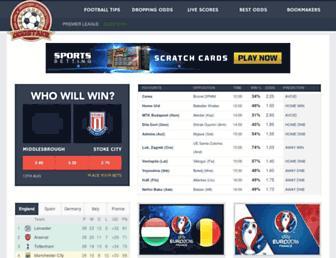 oddstake.com screenshot
