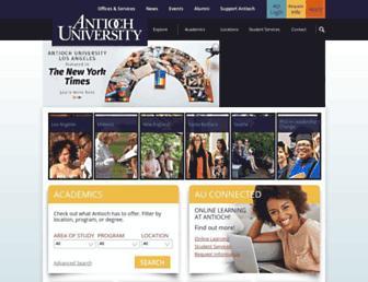Thumbshot of Antioch.edu
