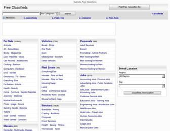 Thumbshot of Australia-free-classifieds.com