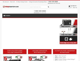 voltagesuperstore.com screenshot