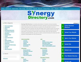 Thumbshot of Synergy-directory.com