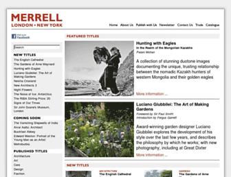 merrellpublishers.com screenshot