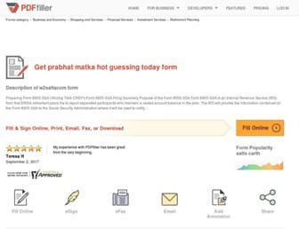 w2-satta-com.pdffiller.com screenshot