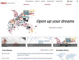 oki.com screenshot