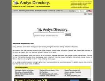Thumbshot of Andysdirectory.com