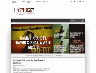 hiphopmusic.ng screenshot