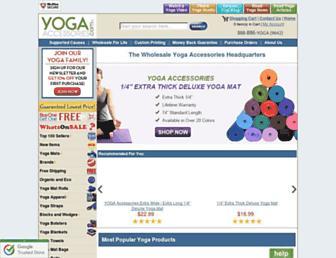 Thumbshot of Yogaaccessories.com