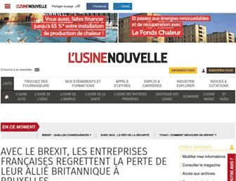 usinenouvelle.com screenshot