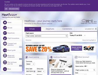 Thumbshot of Heathrowairport.com