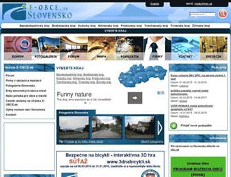 Thumbshot of E-obce.sk