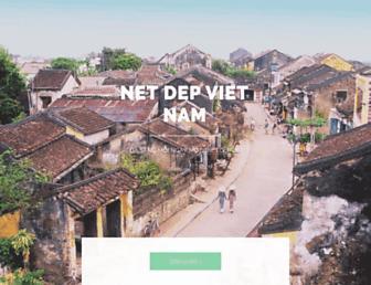 Main page screenshot of netdepviet.org