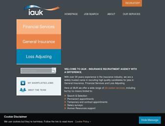 iauk.co.uk screenshot