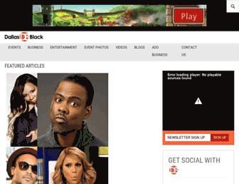 dallasblack.com screenshot