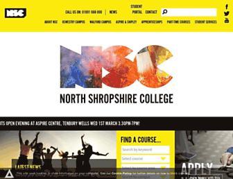 nsc.ac.uk screenshot