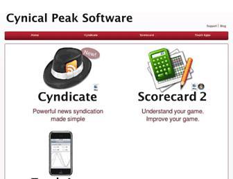 cynicalpeak.com screenshot