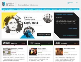 edytastein.org.pl screenshot