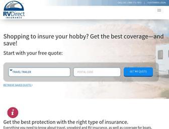 rvdirectinsurance.com screenshot