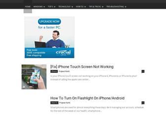 windowslovers.com screenshot
