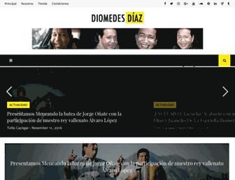 Thumbshot of Diomedesdiaz.co