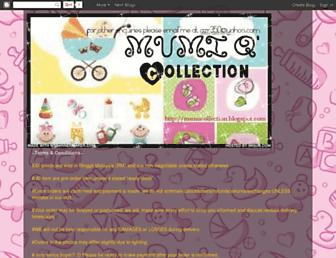 mumicollection.blogspot.com screenshot