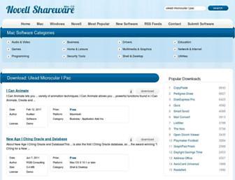 ulead-microcular-i-pac.mac.novellshareware.com screenshot