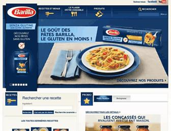 Thumbshot of Barilla.fr