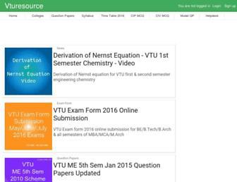 vturesource.com screenshot