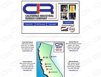 Main page screenshot of cir.net