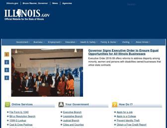 www2.illinois.gov screenshot