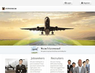 latestpilotjobs.com screenshot