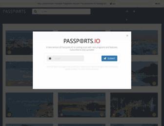 passports.io screenshot